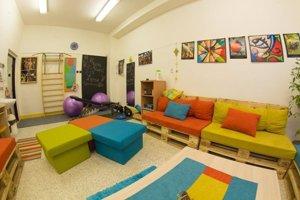 Vyučovacia hodiny trávia aj vnovej relaxačnej miestnosti.