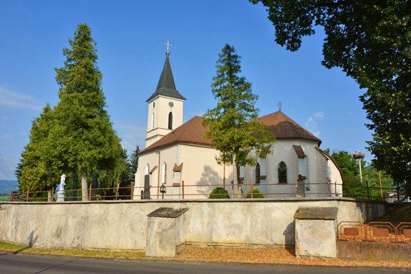 Kostol sv. Cyrila a Metoda v Selciach.