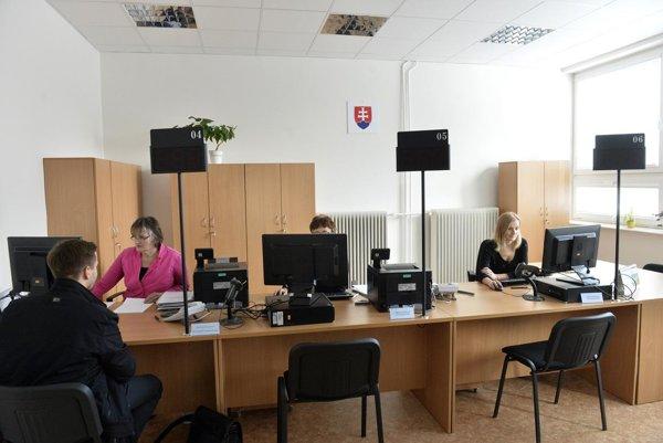 Klientske centrum majú už napríklad na Okresnom úrade v Myjave.