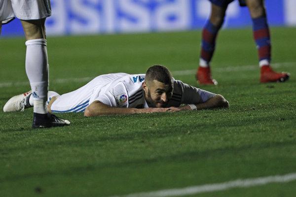 Futbalisti Realu Madrid sa trápia, reakcia Karima Benzemu hovorí za všetko.