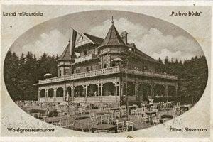 Paľova búda z čias, keď slúžila ako letná reštaurácia.