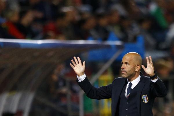 Luigi Di Biagio povedie taliansku reprezentáciu v prestížnych prípravných zápasoch.