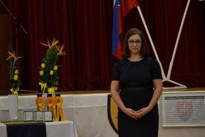 Riaditeľka Diecéznej charity v Rožňave Andrea Janická Rudnayová.