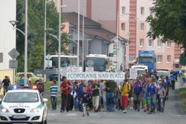 Posledný protest bol 5. septembra v Detve.