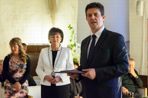 Ocenenie dostal aj riaditeľ zvolenskej firmy Marius Pedersen Jozef Pivka.