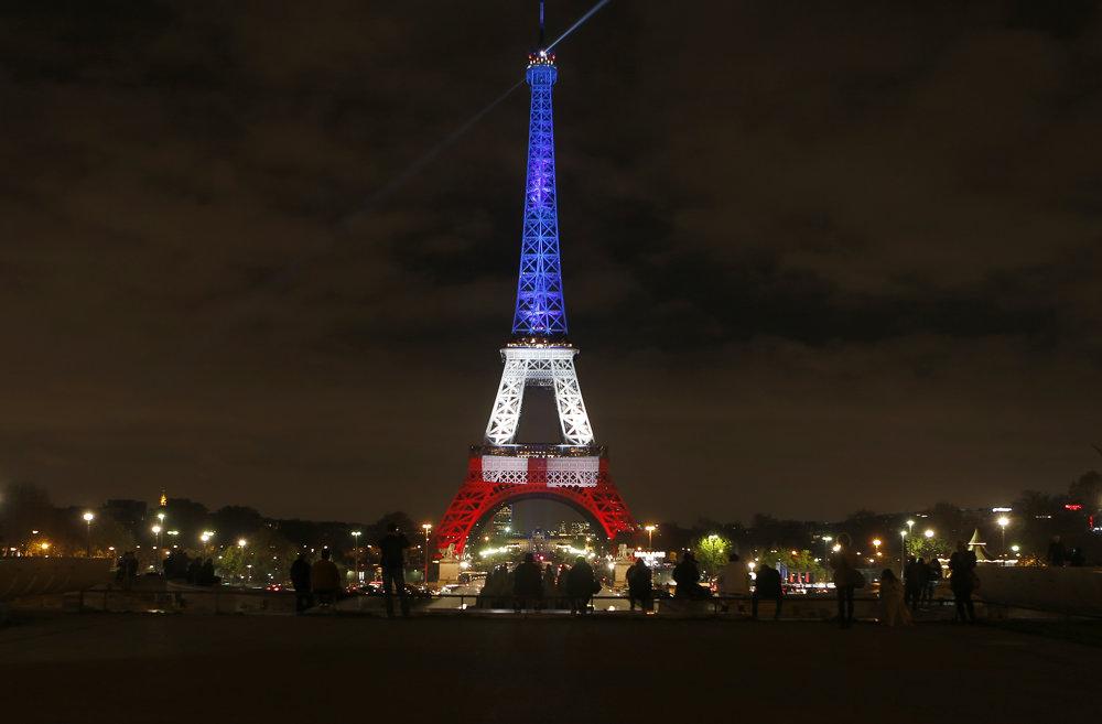 Eiffelova veža, Paríž.