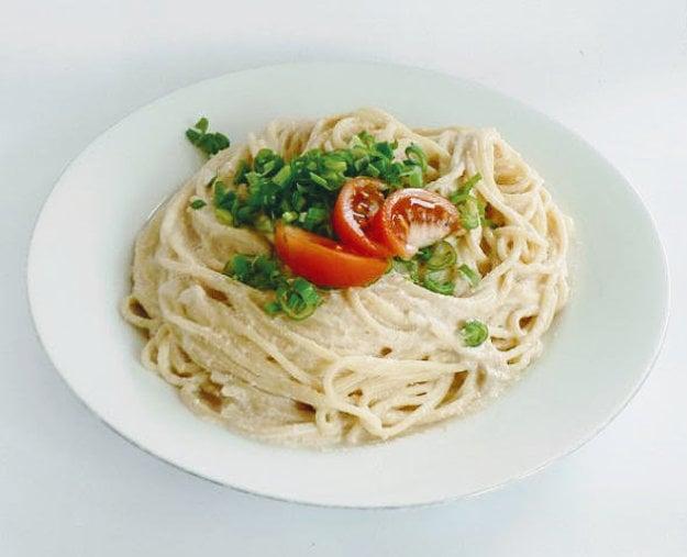 Špagety s arašidovou omáčkou
