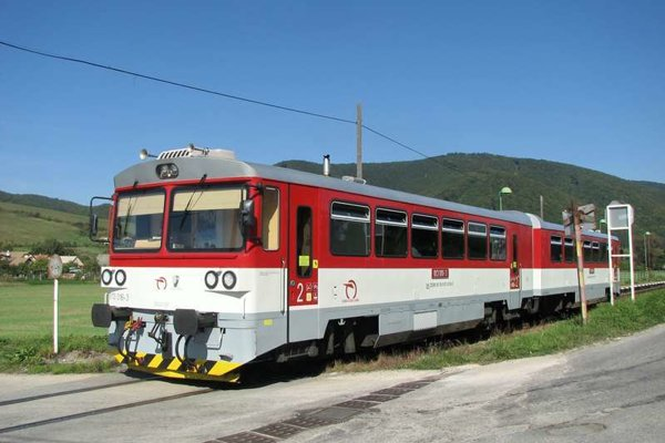 Regionálna trať Žilina - Rajec.
