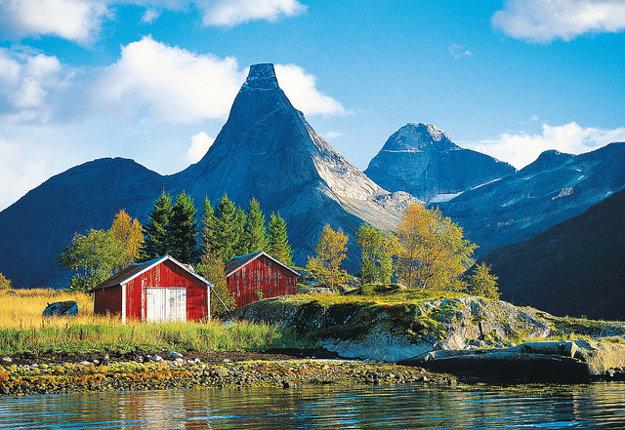 Nórsko. Stetind