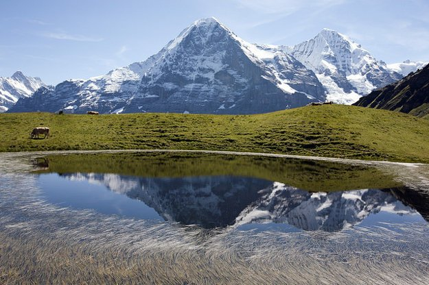 Švajčiarsko. Eiger