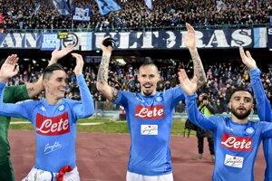 Futbalisti Neapola pokračujú v skvelých výkonoch.