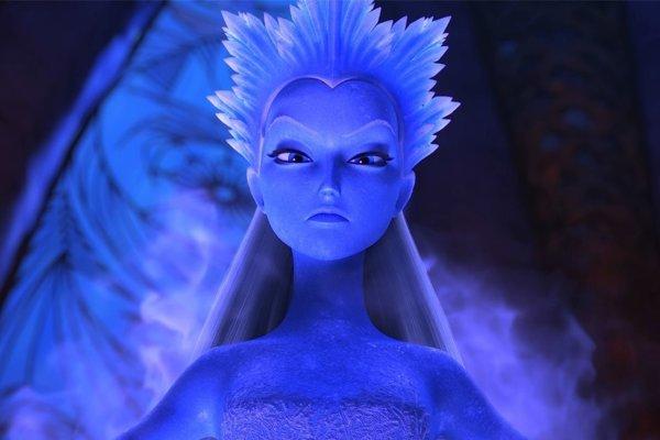 Snehová kráľovná: Tajomstvo ohňa a vody.