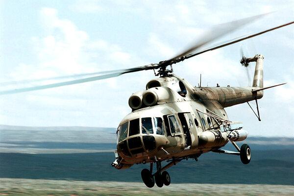 Vrtuľník Mi-8 (Ilustračná snímka).