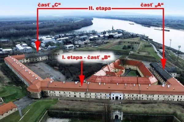 Ďalšia fáza obnovy strechy pevnosti sa začne v marci.