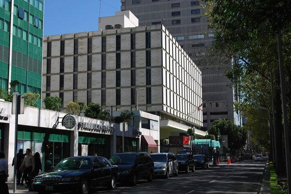 Súčasné sídlo americkej ambasády v Mexiku.