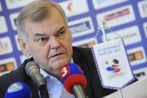 Bývalý tréner slovenskej hokejovej reprezentácie Vladimír Vůjtek.
