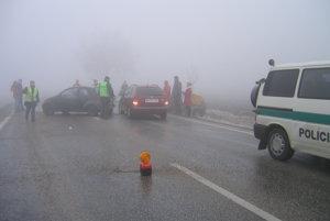 Hmla sa podpisuje pod množstvo dopravných nehôd.