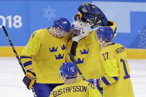 Švédski hokejisti zdolali Nemecko.