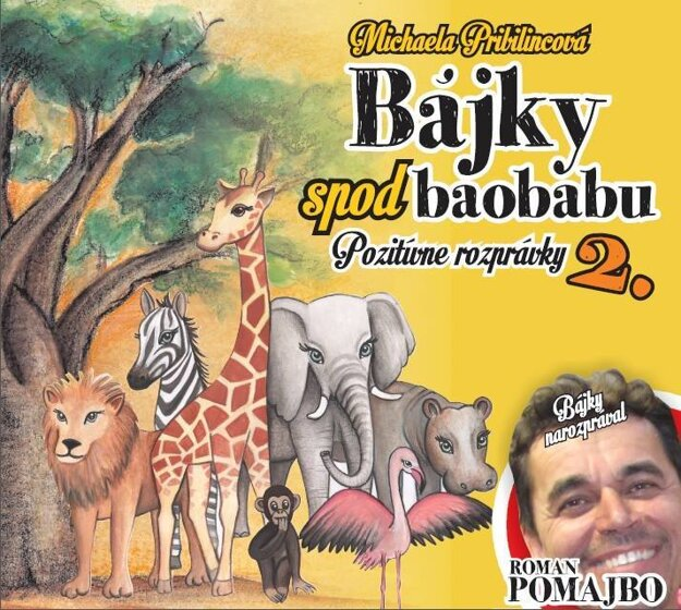 Bájky spod baobabu. Novinka pre deti.