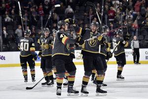 Hokejisti Vegas si poradili aj s Montrealom.