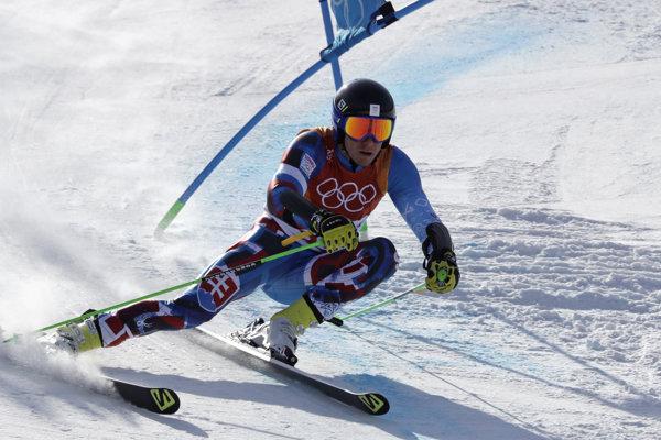 Adam Žampa skončil v obrovskom slalome najlepšie spomedzi Slovákov.