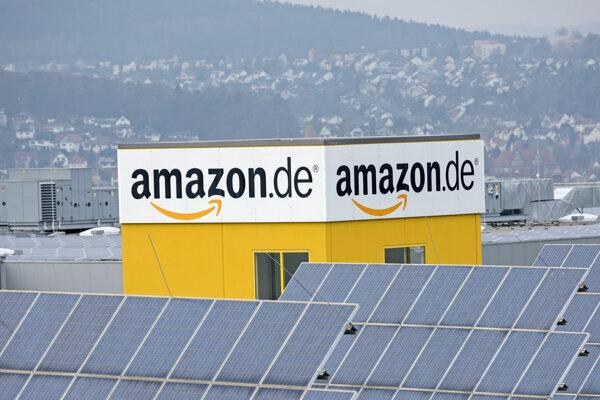 Distribučné centrum americkej spoločnosti Amazon.