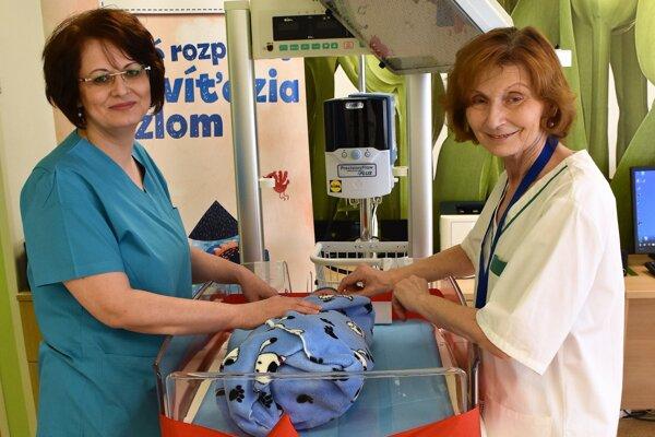 Prístroje v humenskej nemocnici pomôžu bábätkám.