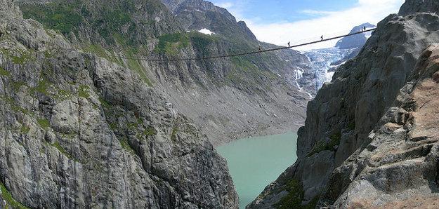 Švajčiarsko. Trift