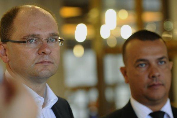 Richard Sulík (vľavo) a Juraj Miškov.