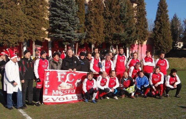 FC Mesto pred zápasom