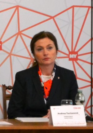 Andrea Turčanová, primátorka Prešova.