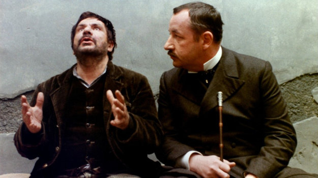 S Philippom Noiretom vo dráme Sudca a vrah.