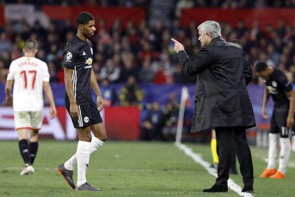 José Mourinho dohovára marcusovi Rashfordovi.