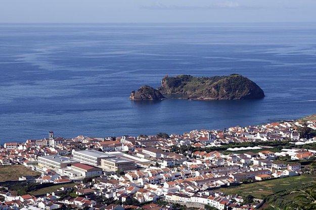 Azory: Vila Franca do Camp, bývalé hlavné mesto.