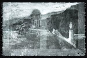 Skrytá krajinka pod obrazom Pabla Picassa. Maľba patrila neznámemu barcelonskému maliarovi.
