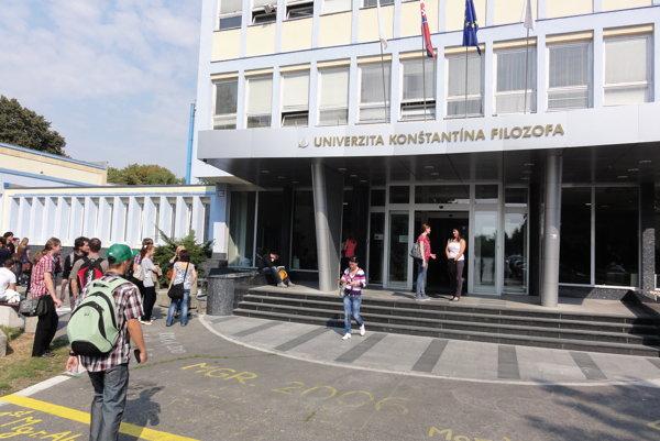 Univerzita Konštantína Filozofa v Nitre.