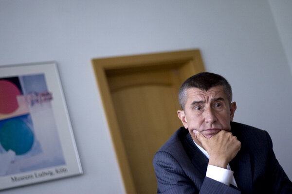 Majiteľ koncernu Agrofert a český politik Andrej Babiš.