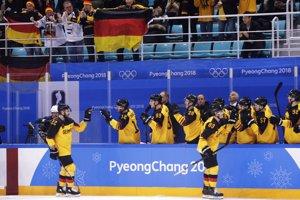 Nemeckí hokejisti, ilustračná snímka.