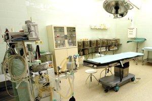 Záber jednej zo sál. Archívna fotografia z čias, keď ešte nemocnica bola v prevádzke.