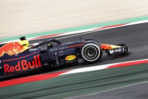 Najrýchlejší počas prvého dňa testov bol Daniel Ricciardo na Red Bulle.