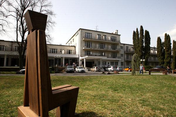 Volebný okrsok je zriadený v liečebnom dome Palace.