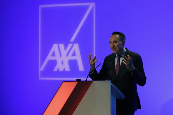 Šéf francúzskej poisťovne AXA Thomas Buberl.