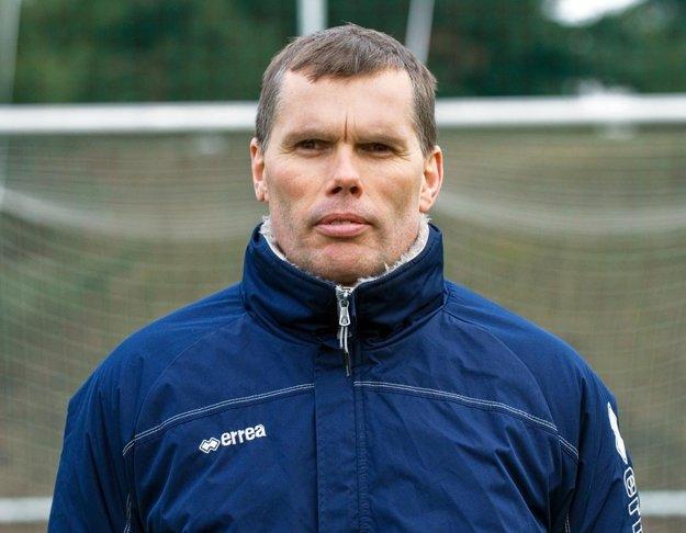 Tréner mužstva Igor Kasana.