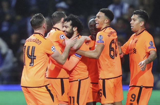 Futbalisti Liverpoolu si zabezpečili postup už v prvom zápase. Porto zdolali 5:0.