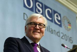 Nemecký minister zahraničných vecí Frank-Walter Steinmeier vo Viedni predstavil plány predsedníctva Nemecka v OBSE.