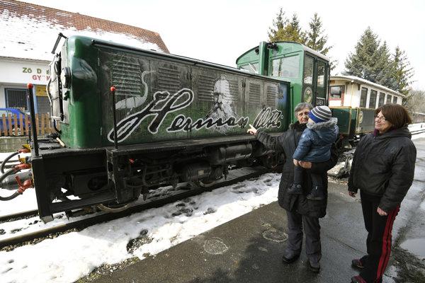 Historická železnička v Miškovci