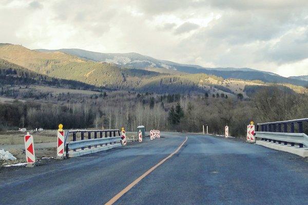 Cesta I/66 pri Polomke.
