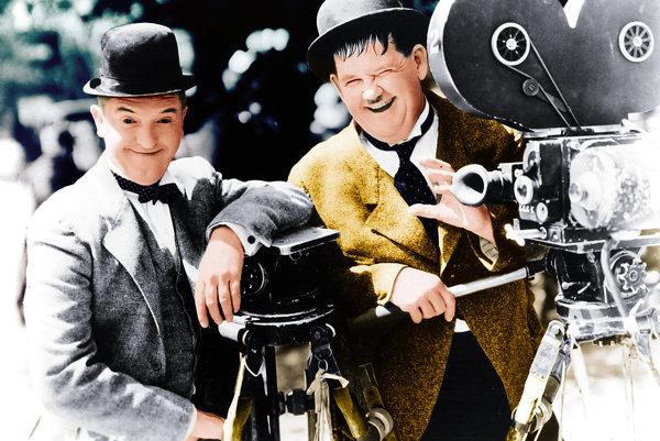 Laurel a Hardy, šľahačkoví králi grotesky