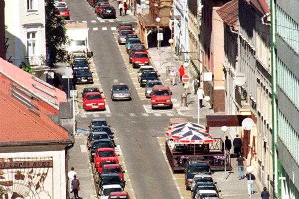 Lazaretská ulica.