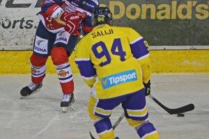 Lukáš Jurík hľadá prihrávkou svojich spoluhráčov